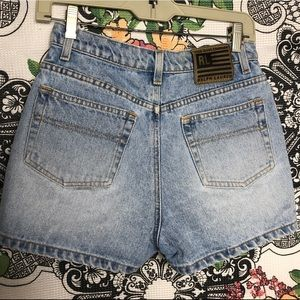 Ralph Lauren wasted wasted jean shorts